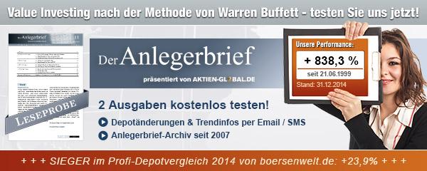 Der Anlegerbrief präsentiert von Aktien-Global.de